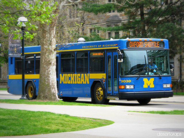 Late Night Ann Arbor Transportation | Beyond the Diag - Off