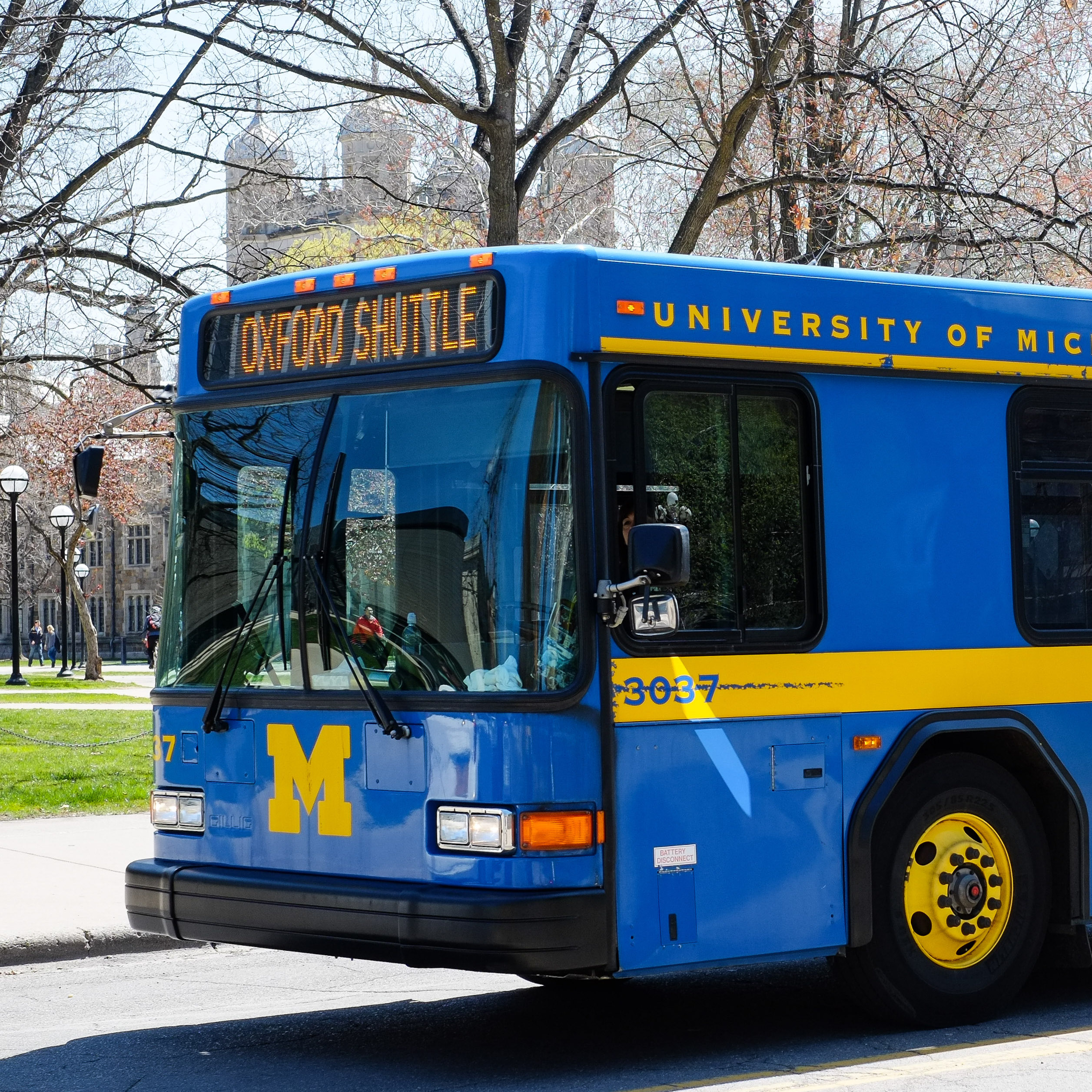 Getting Around Campus and Ann Arbor | Beyond the Diag - Off