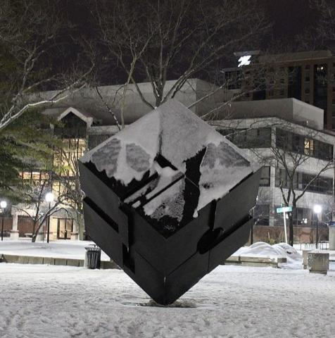 cube umich snow