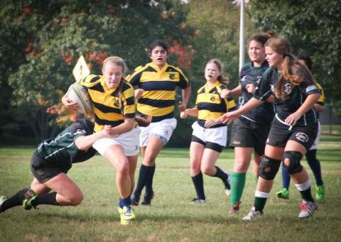 Michigan Women's Rugby Game