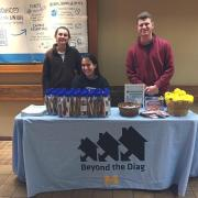 Tabling event in Michigan Union