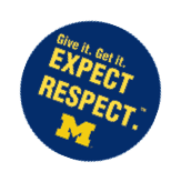Expect Respect. Give it. Get it.