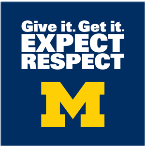 Give it. Get it. Expect Respect!