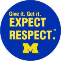 Give it. Get it. Expect Respect.