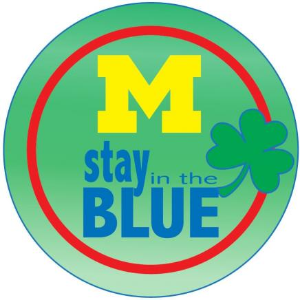 Button for Stay In The Blue