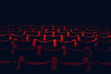 Theater seats.